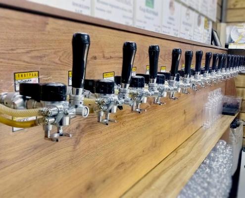 Магазин разливного пива в Гатчине - Пивград